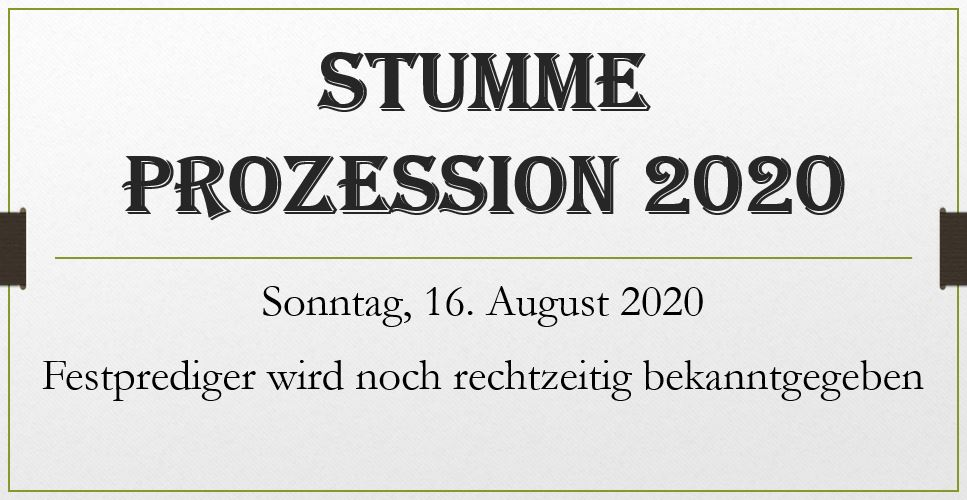 StummeProzession2020